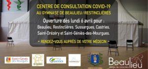 centre de consultation Covid Sussargues