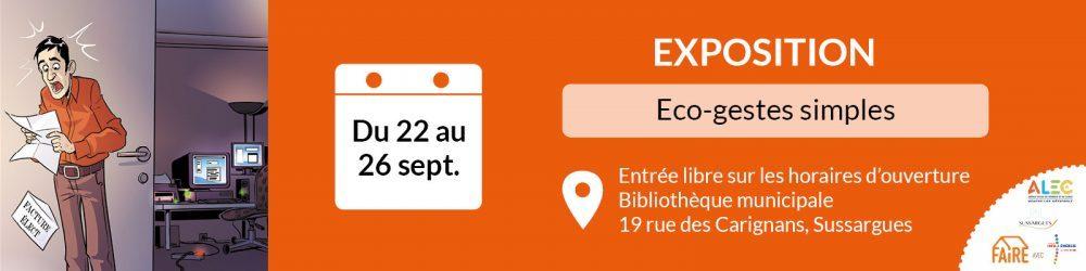Image ECO-GESTES SIMPLES : UNE EXPO POUR FAIRE DES ECONOMIES !