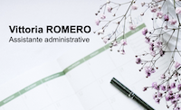 Image Vittoria Romero – Assistante administrative