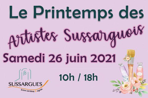 Image 13e PRINTEMPS DES ARTISTES SUSSARGUOIS
